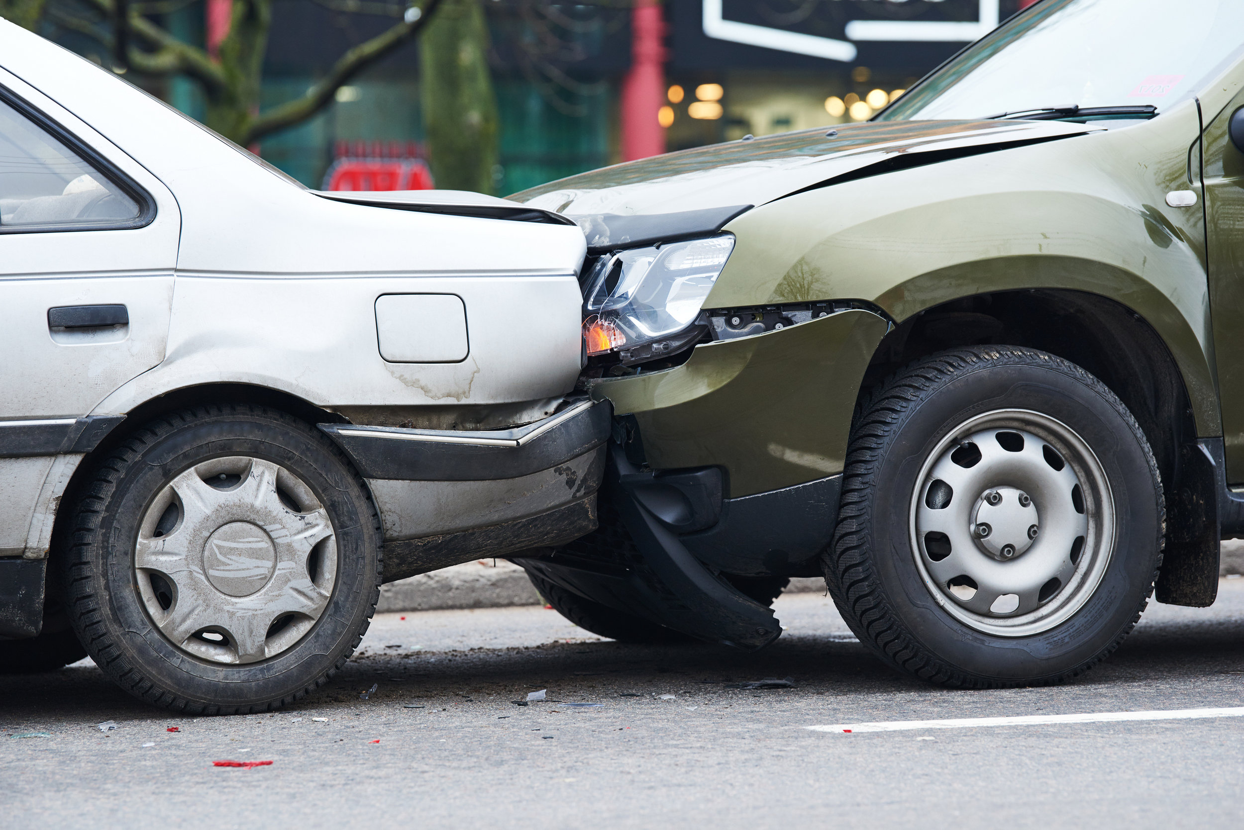 Personal Injury lawyers are familiar with car accidents and the injuries that result.  ©BigStockPhoto