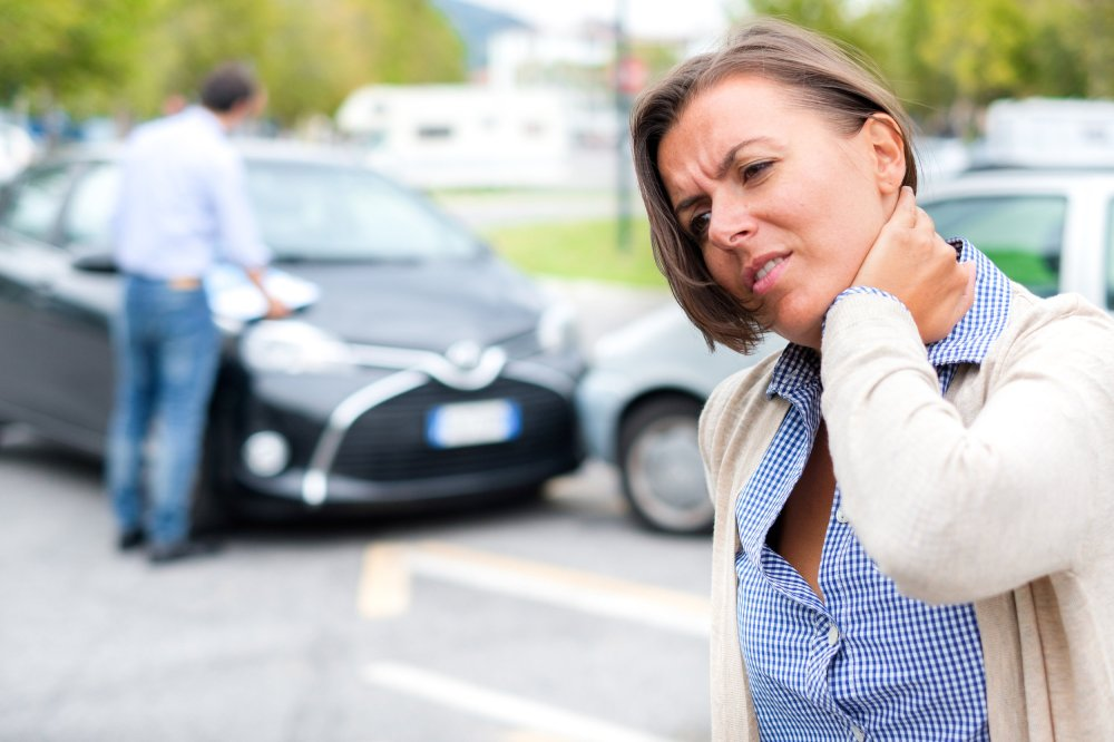 When a car accident victim sustains an injury to the neck or cervical spine, they're at-risk for serious complications.  ©BigStockPhoto