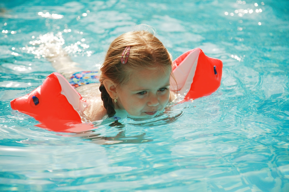 Pool and patio door alarms do not replace the eyes, ears, and quick thinking of an adult responsible for the supervision of minors. © BigStockPhoto