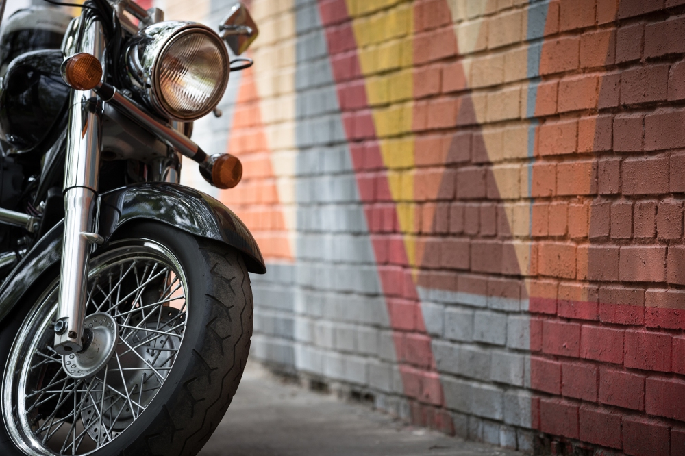 Bikes are heavy, powerful machines and can cause injuries for those unfamiliar with their handling. ©BigStockPhoto