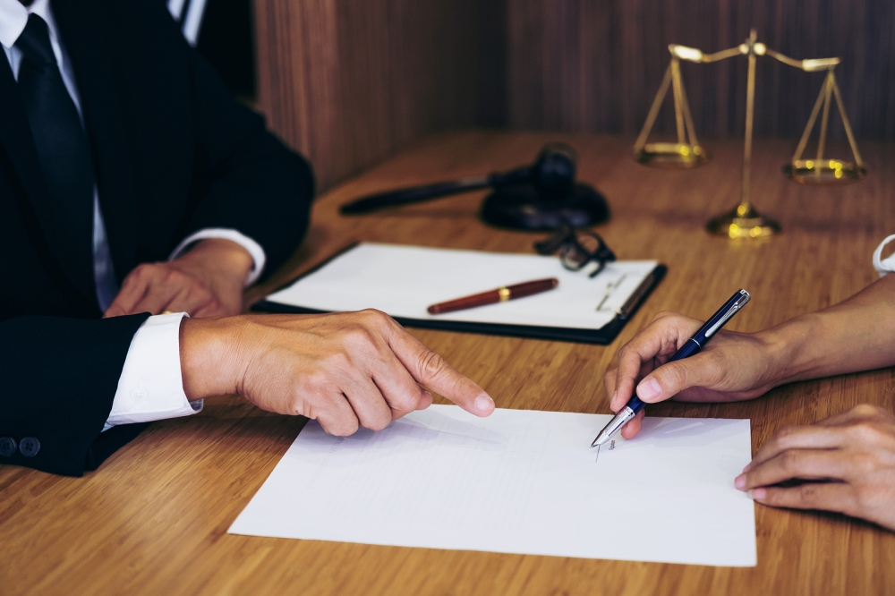 An attorney is there to provide expert advice and protect the rights of someone who has come to harm at the fault of another.  ©BigStockPhoto