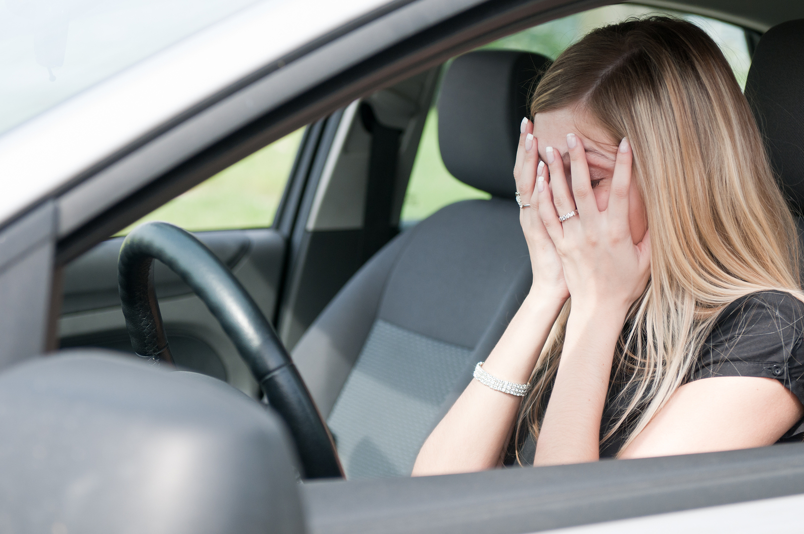 An Uninsured Motorist claim filed against the victim's insurance policy will help offset the medical expenses, vehicle repair, and lost wages incurred as a result of the accident. © BigStockPhoto