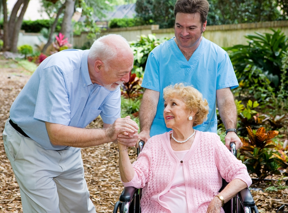 The elderly often find a sense of peace and relaxation with their new caregivers, who will provide for their needs compassionately where family members may have become frustrated unintentionally in the past.  ©BigStockPhoto
