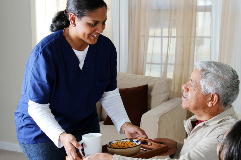 "The elderly can thrive and ""bounce back"" from a decline when in the care of qualified, skilled nursing home setting.  ©BigStockPhoto"